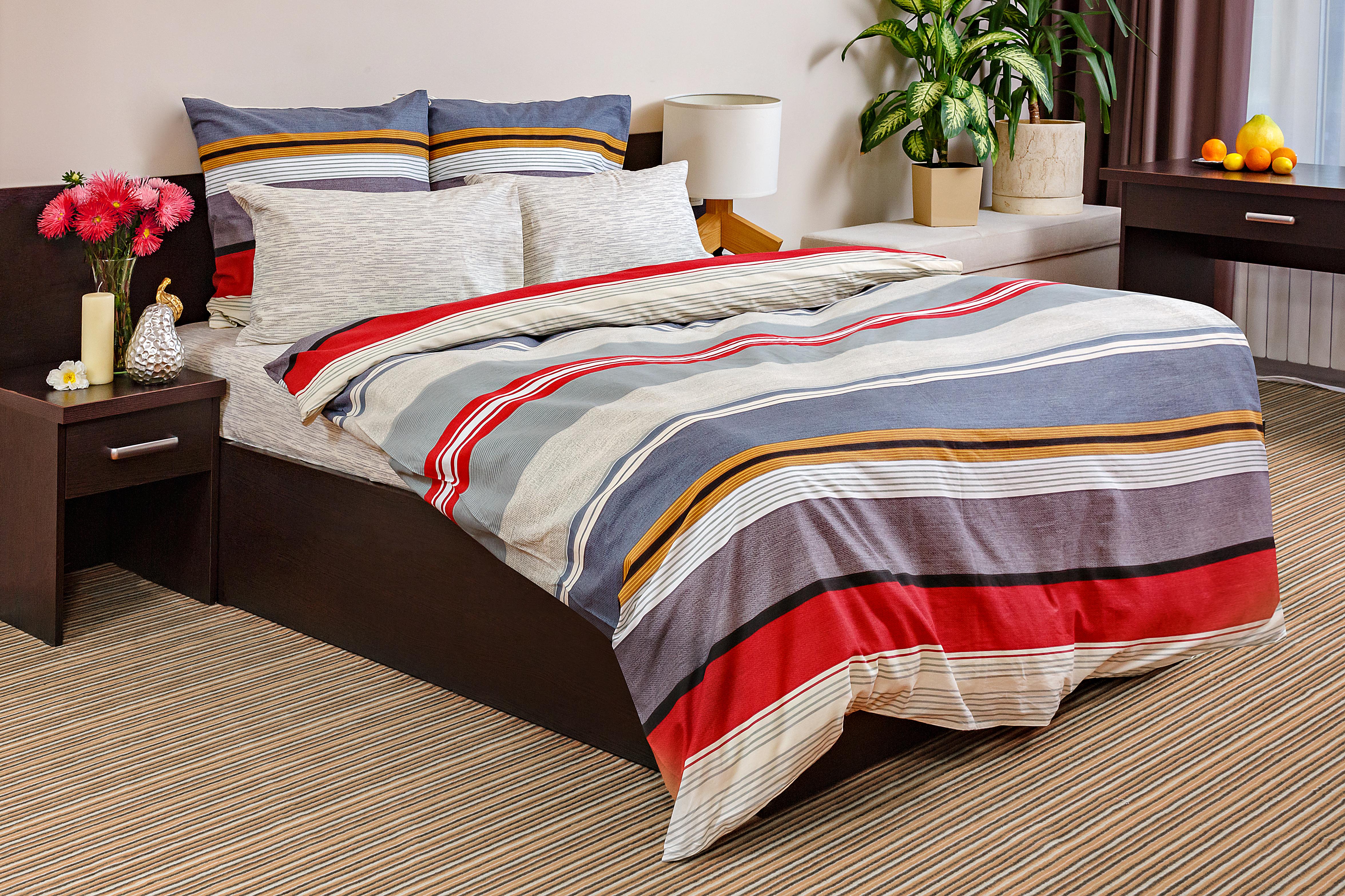 Комплект постельного белья Ночь нежна Massimo (2 сп. евро)