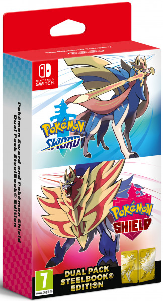 Игра Pokemon Sword/Shield Dual Pack для Nintendo Switch