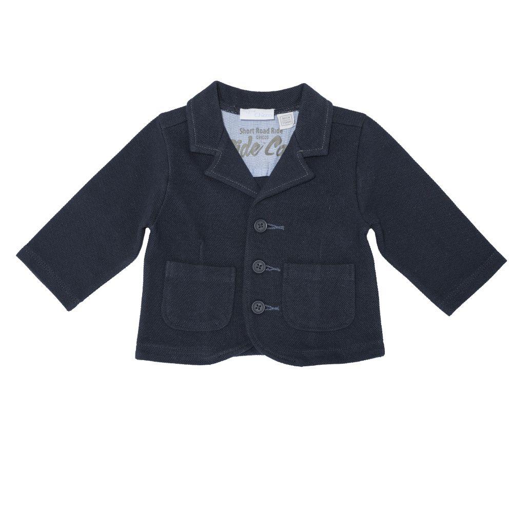 Пиджак детский Chicco р.080 цвет синий