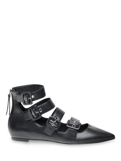 Туфли женские Ash черные