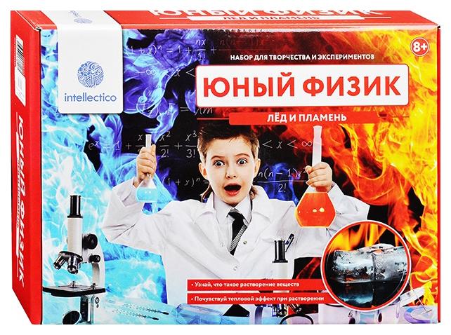 Набор для Опытов Юный Физик Лед и Пламень Intellectico 206