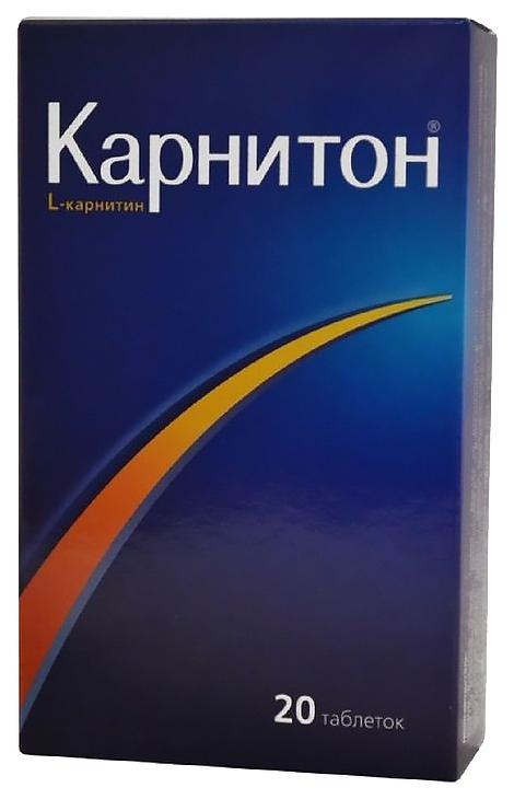 Карнитон в таблетках N20