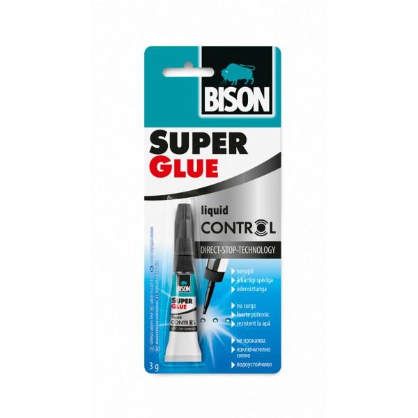 Клей BISON 6311790 Super Glue Control с Дозатором 3гр