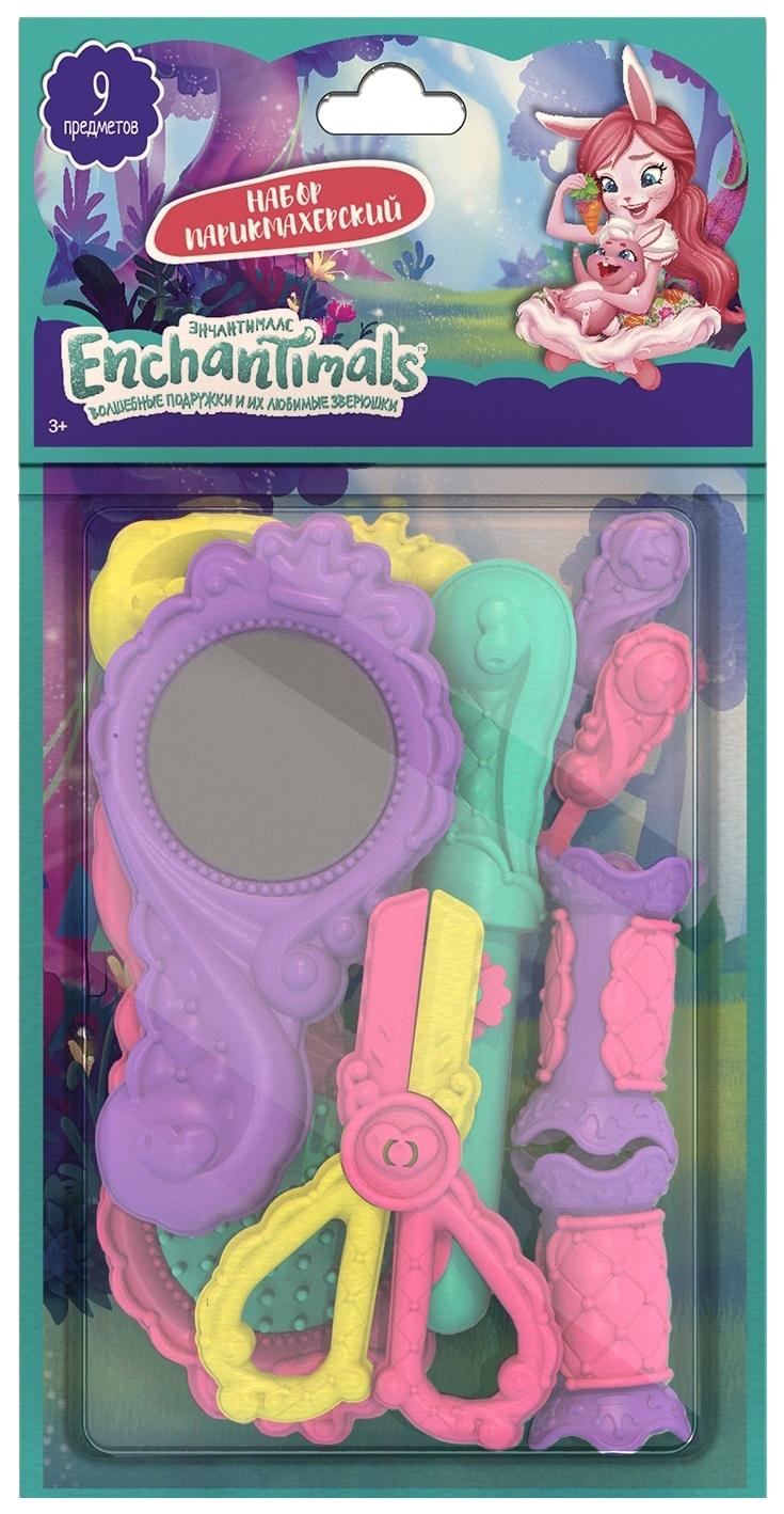 Купить Парикмахерский набор Энчантималс (9 предметов), НОРДПЛАСТ, Детские наборы парикмахера
