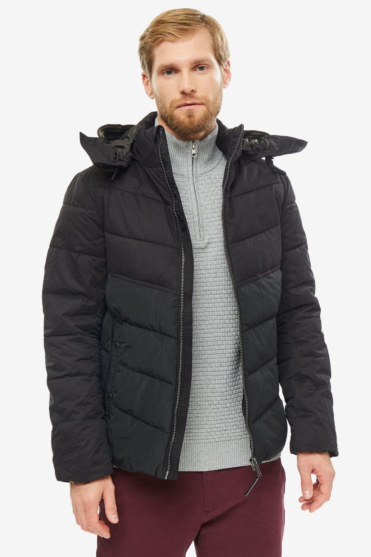 Куртка мужская TOM TAILOR 1012104-29999 черная S фото