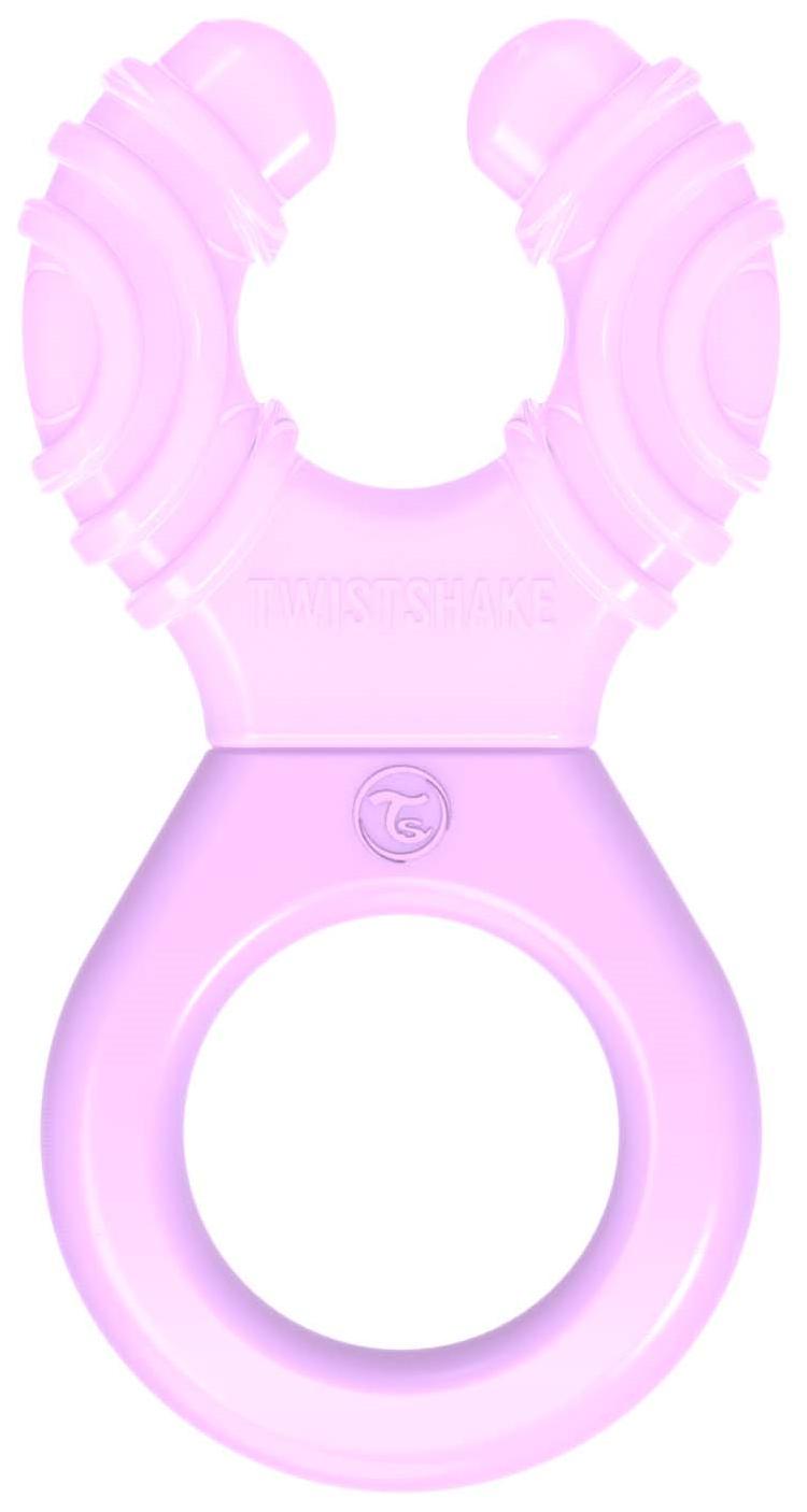 Купить Прорезыватель с водой Twistshake, пастельный фиолетовый,