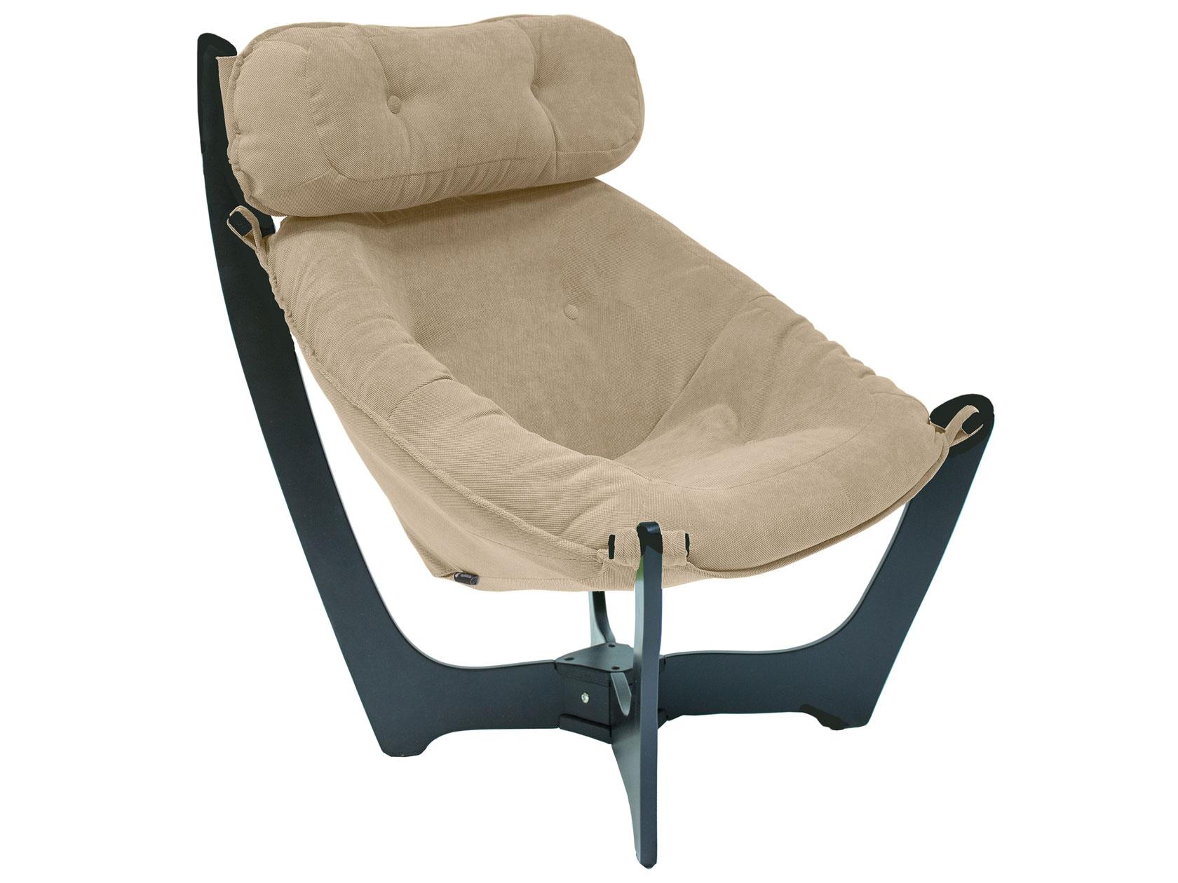 Кресло Мебель Импэкс Кресло для отдыха Комфорт Модель 11 Венге, Verona Vanilla, велюр