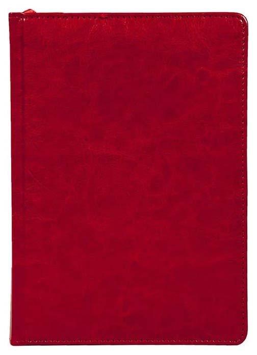 Ежедневник недатированный Lite «Classic» А5 168 листов Красный