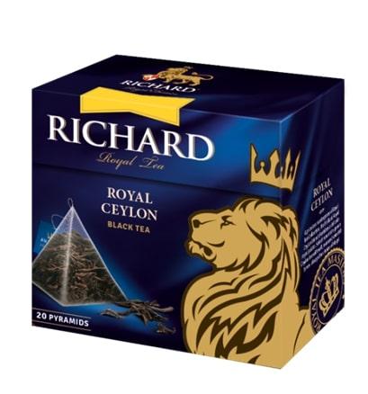 Чай Richard Royal Ceylon 20 пирамидок