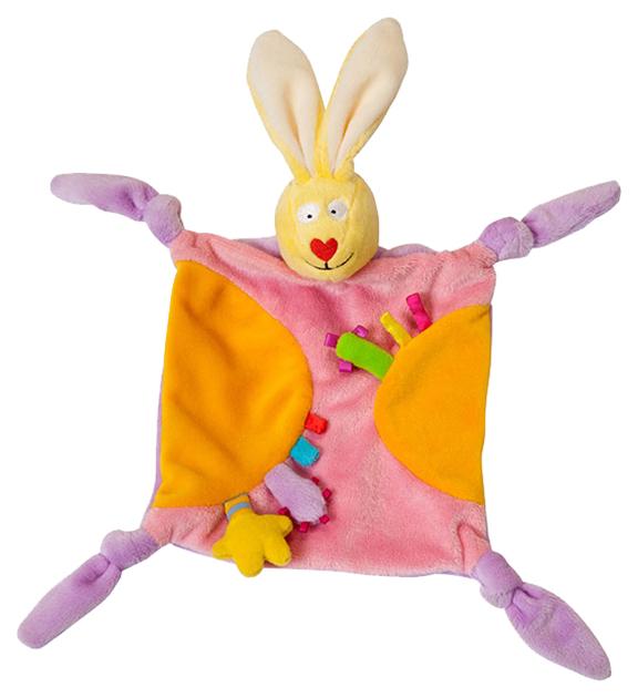 Купить Комфортер Taf Toys Платочек-прорезыватель Кролик в ассортименте, Комфортеры для новорожденных