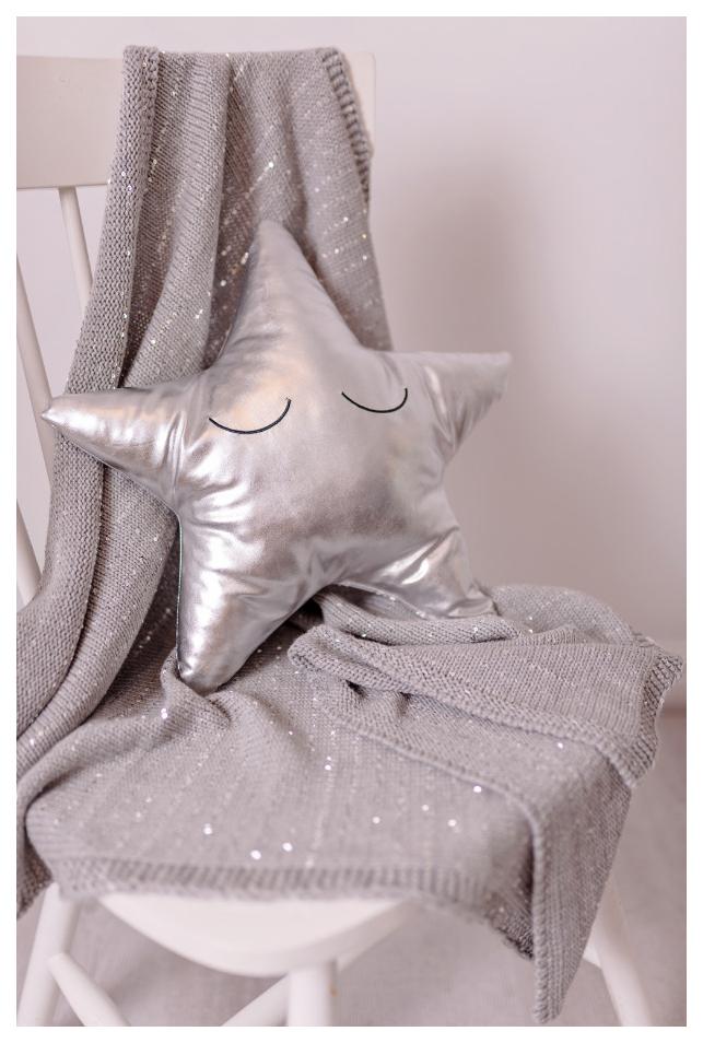 Купить Одеяло Bizzi Growin (Биззи Гровин) Silver Sparkle 75*100 BG013, Одеяла для новорожденных