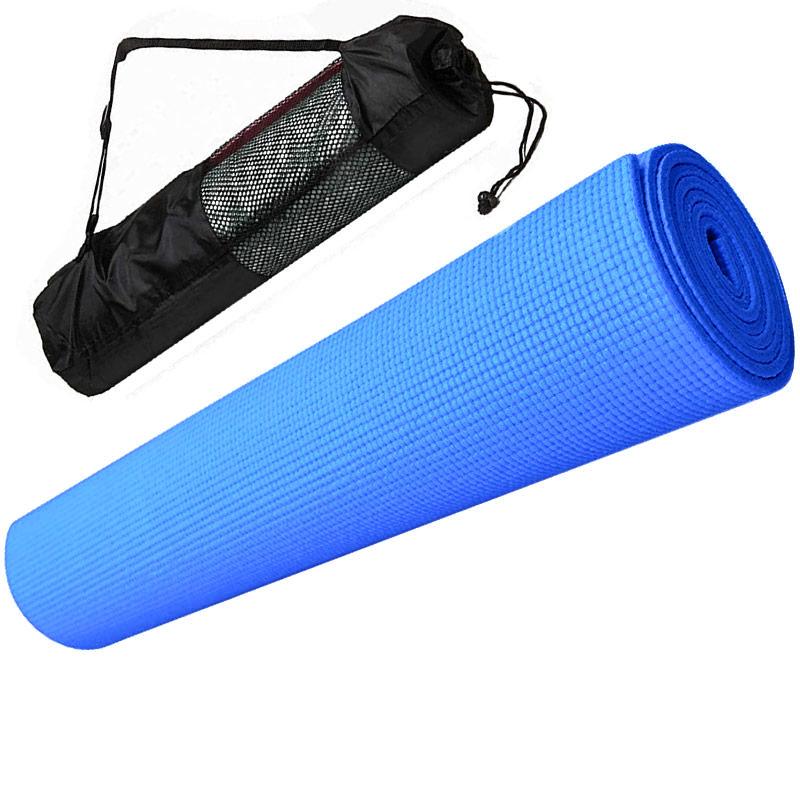 Коврик для йоги Hawk E29264 синий