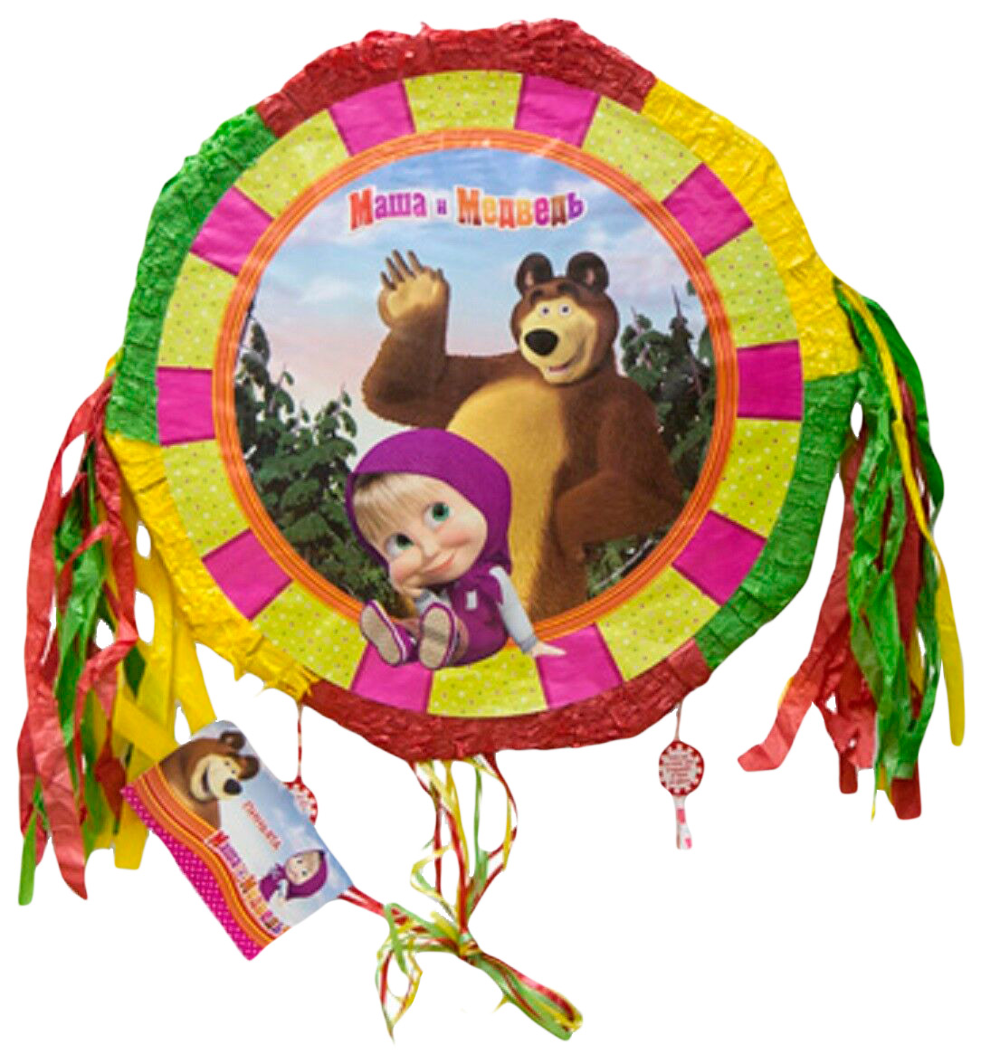 Игровой набор Веселая затея Маша и Медведь 1507-1151 1 предметов