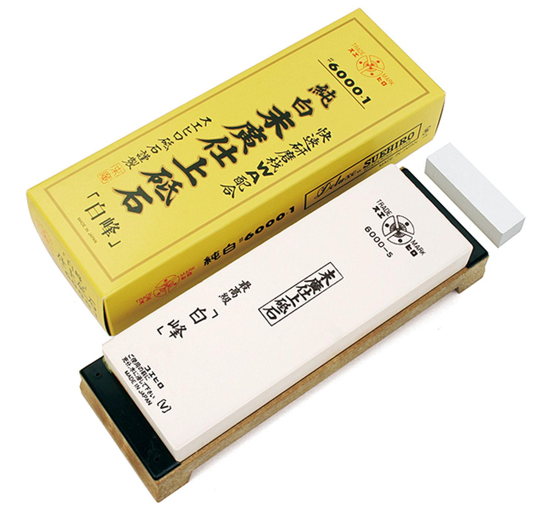 Камень водный #6000 на подставке Suehiro 6000 hakuno