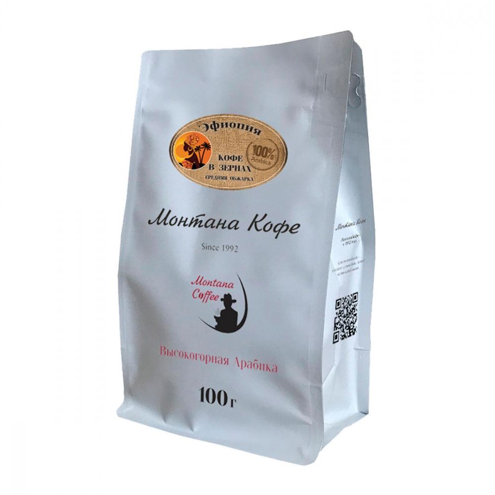 Кофе Монтана Кофе Эфиопия в зернах 100 г фото