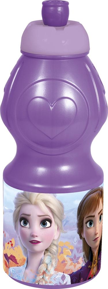 Бутылка пластиковая Stor (спортивная, фигурная, 400 мл). Холодное сердце 2, 35032