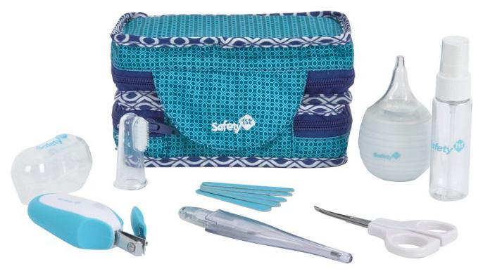 Купить Набор аксессуаров Safety 1st по уходу за малышом в футляре (9 предметов), Ножницы для новорожденных