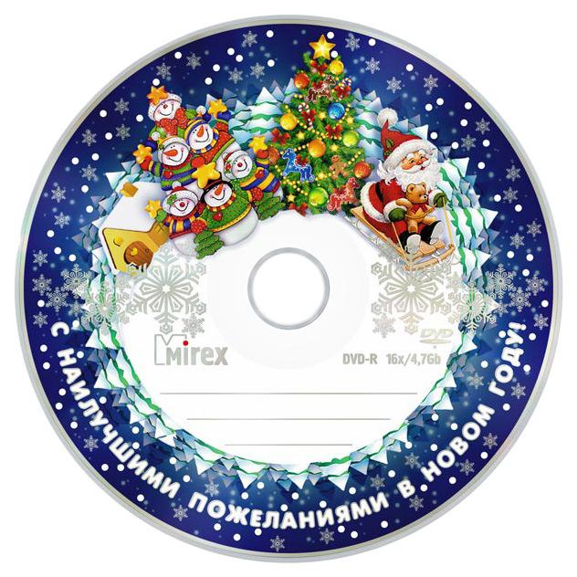 Диск Mirex Новогодний UL130265A1T 50 шт фото