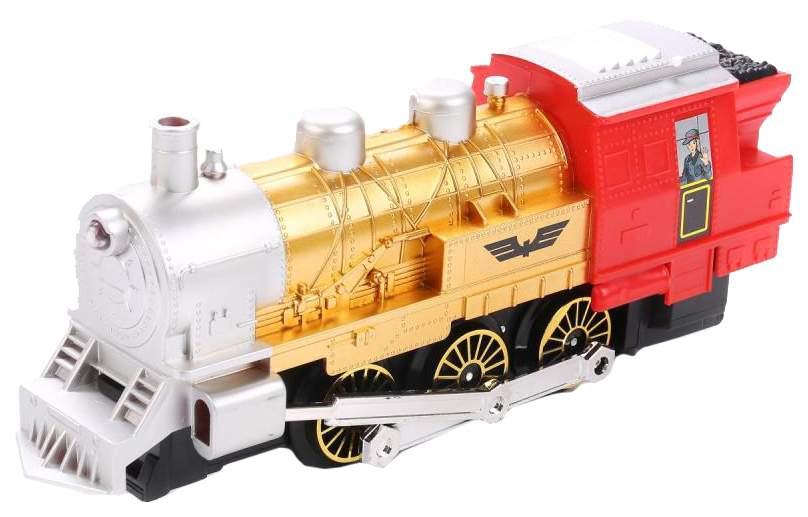 Купить Железная дорога Play Smart 0608 Мой 1-й поезд с дымом свет звук 282 cм, PLAYSMART, Детские железные дороги