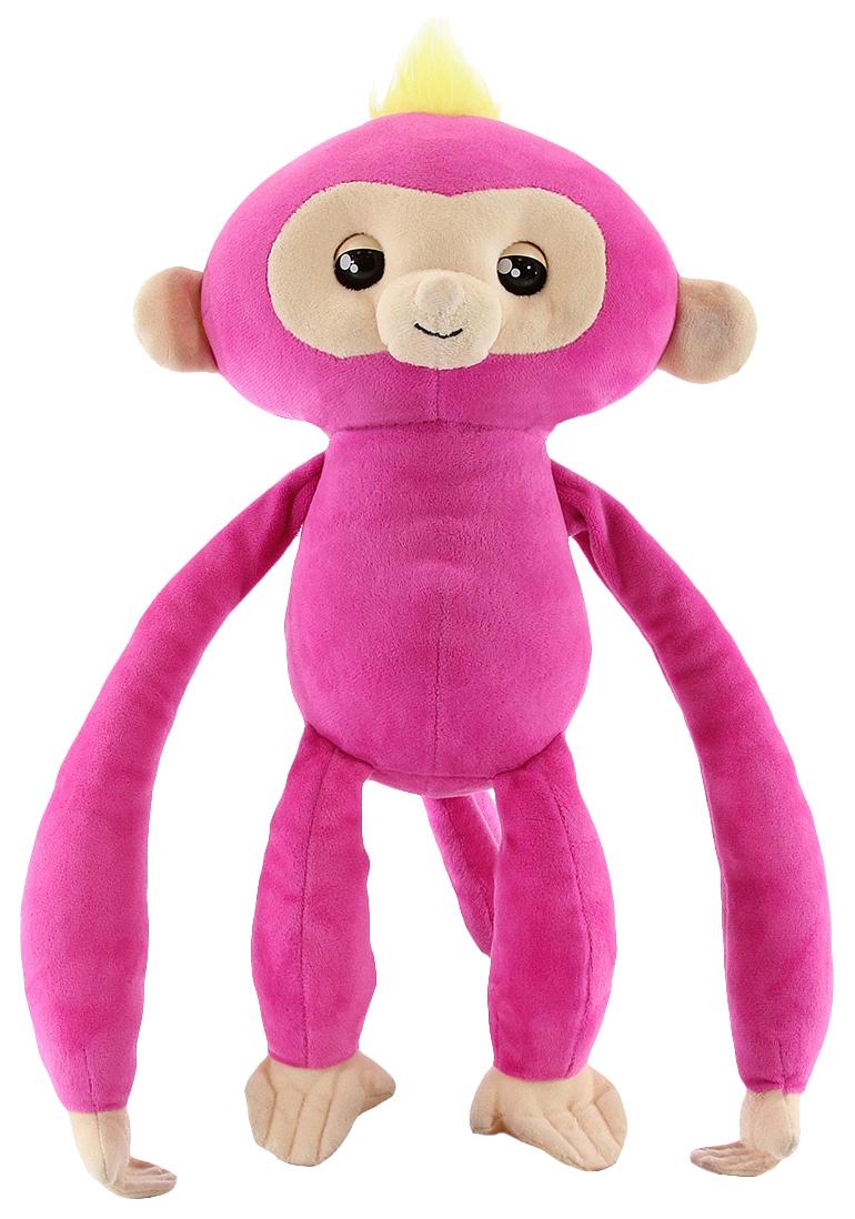 Купить Мягкая игрушка Fingerlings WowWee Обезьянка-обнимашка Белла, Интерактивные мягкие игрушки