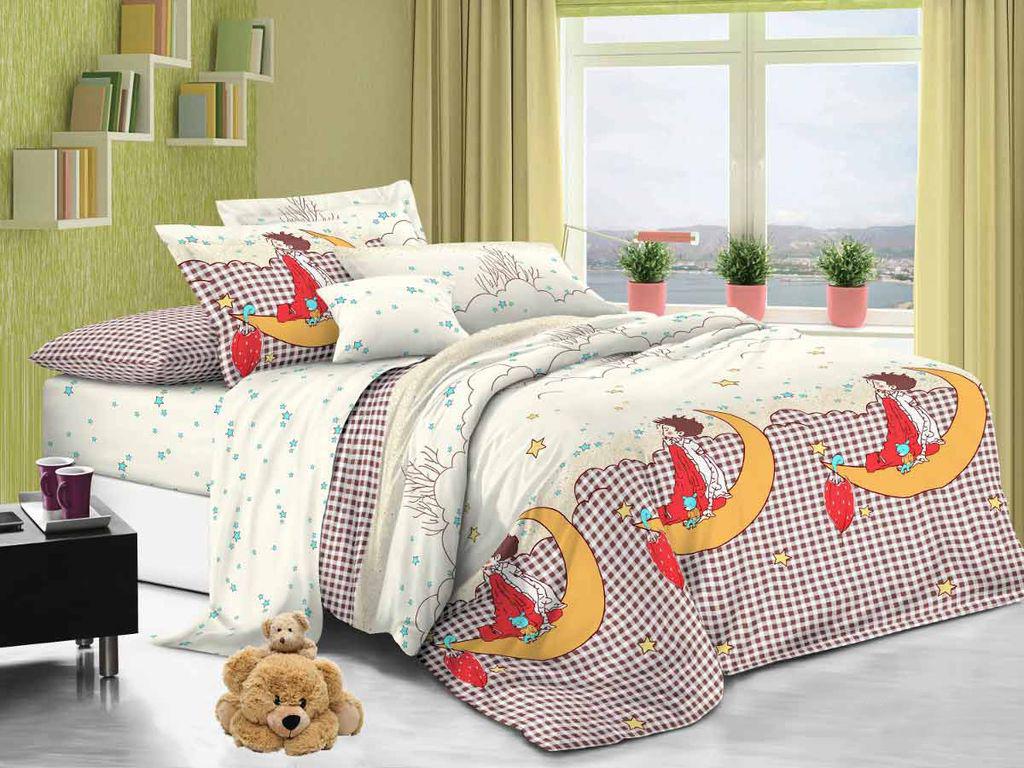 Постельное белье для детей поплин Cleo 009-PD 1, 5 сп, АльВиТек, Комплекты детского постельного белья  - купить со скидкой