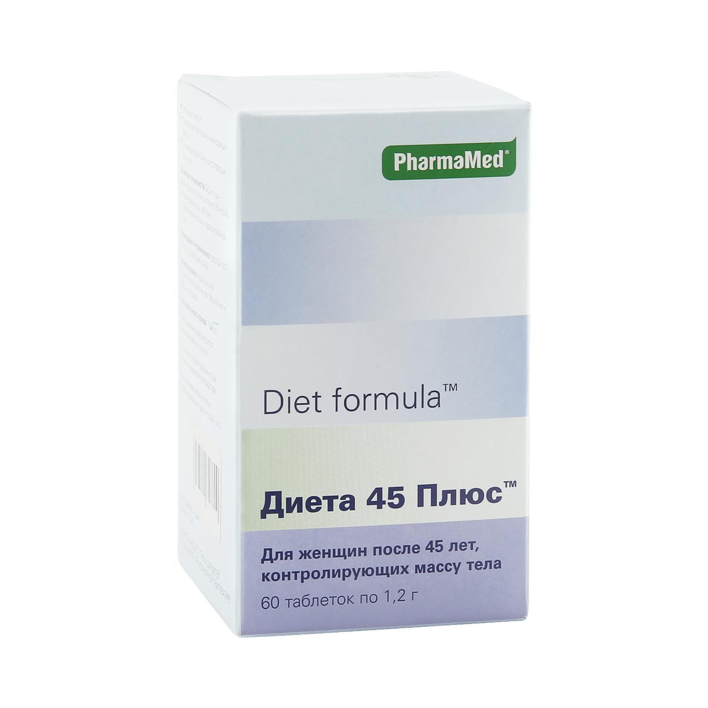 PharmaMed Диета 45 плюс таблетки 60 шт.