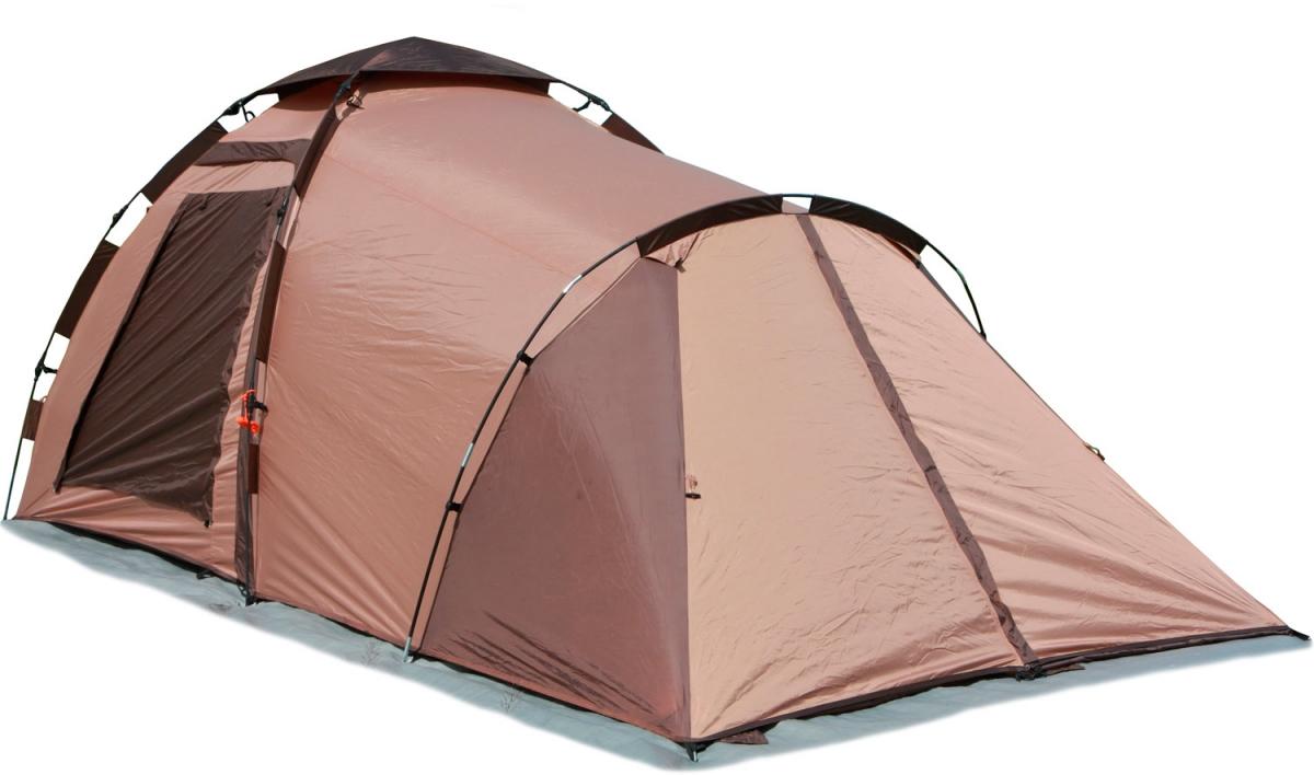 Палатка-автомат Maverick Family Comfort трехместная коричневая