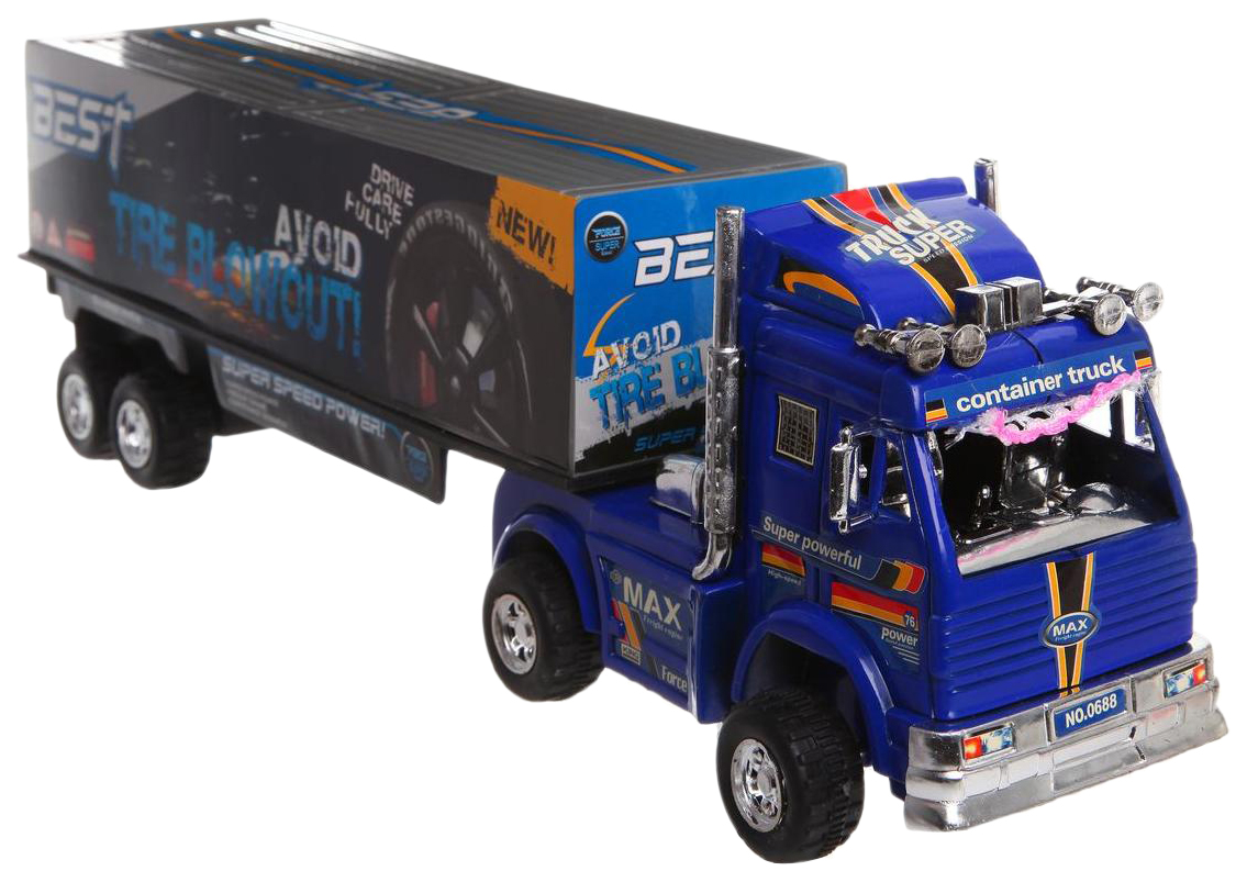 Игрушечный грузовик Shenzhen toys heavy truck freight В33838 фото