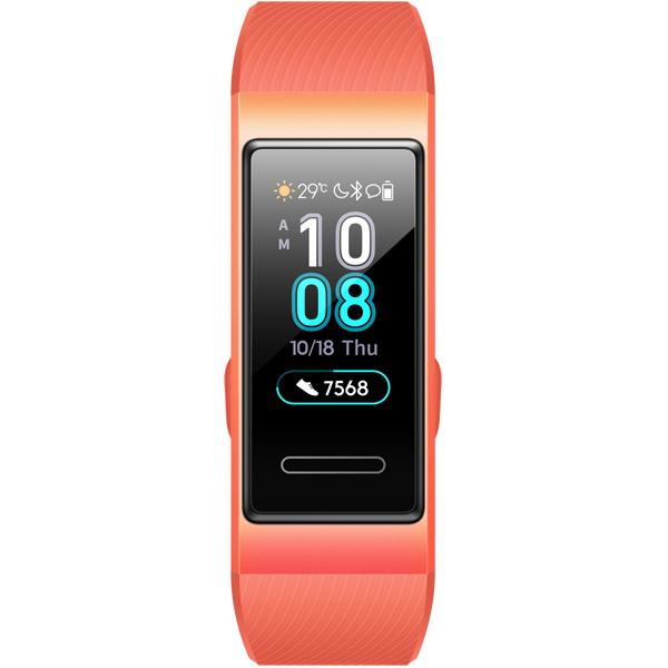 Смарт браслет Huawei Band 3 Pink/Orange (TER