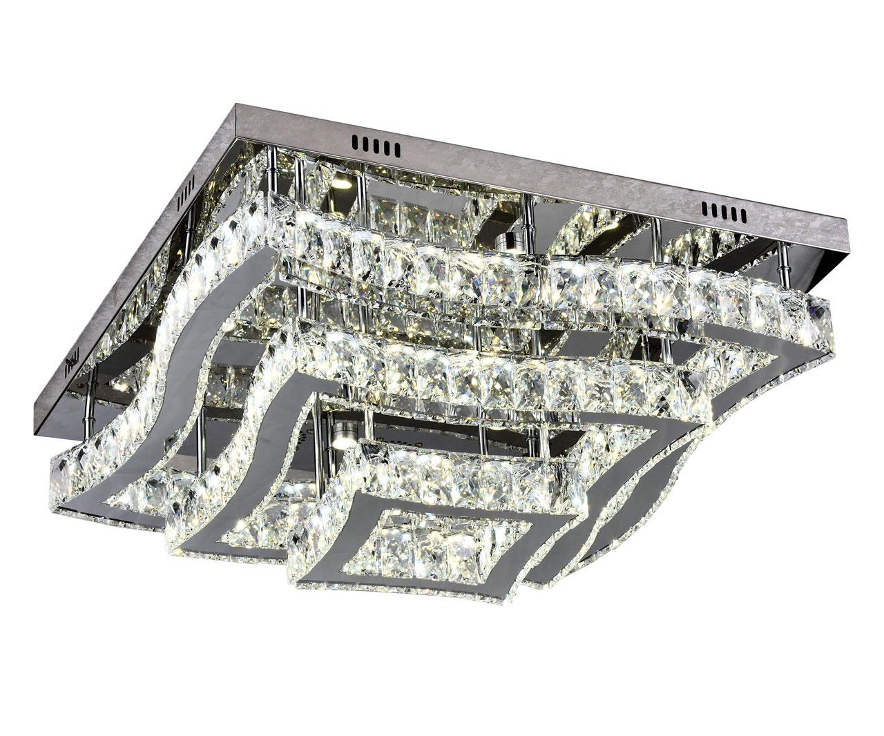 Потолочный светодиодный светильник Kink Light Тор-Кристалл 08606(3000-6000K) фото