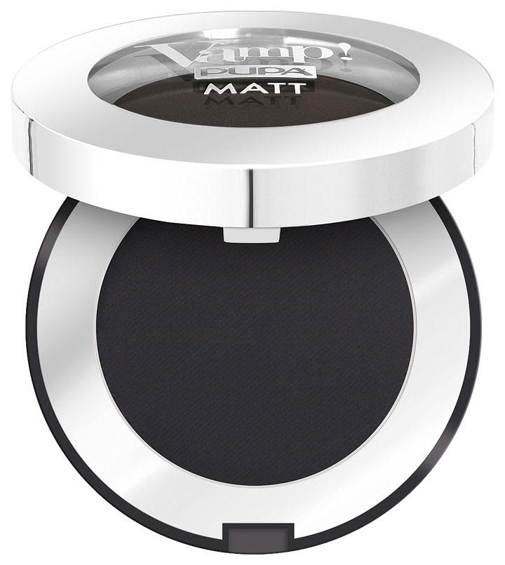 Купить Тени для век Pupa Vamp! Matt Eyeshadow 060 Deep Black 1