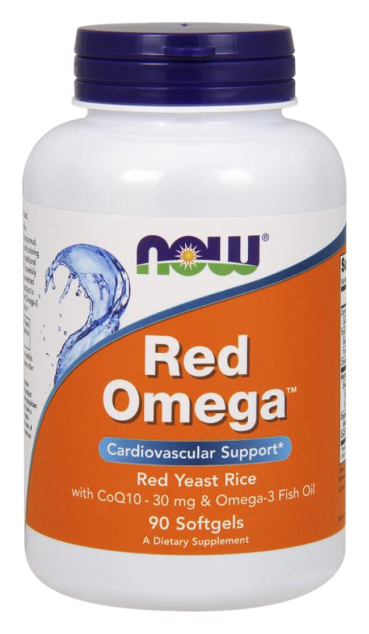 Купить Omega-3 Now Red Omega 90 гелевых капсул