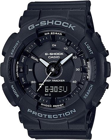 Японские спортивные наручные часы Casio G-Shock GMA-S130-1A фото