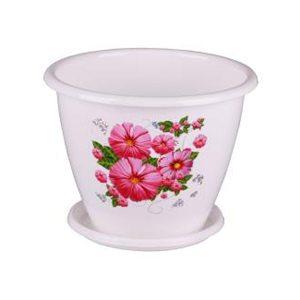 Горшок цветочный Альтернатива 14594 2 л
