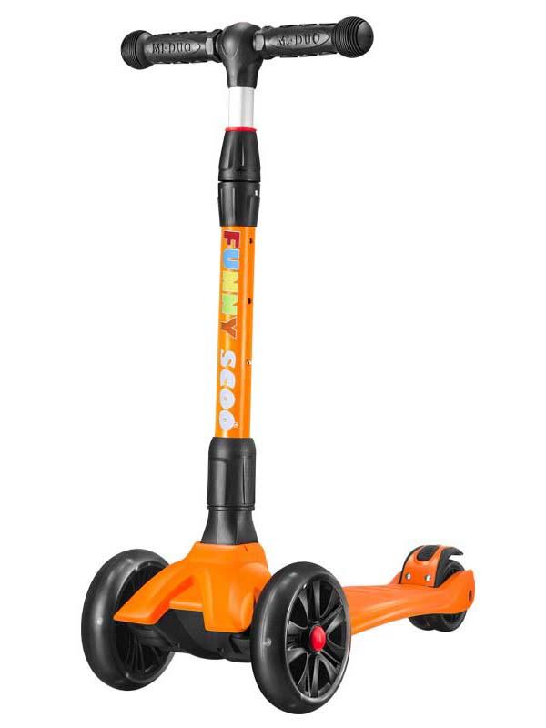 Самокат Funny Scoo MS-962 оранжевый