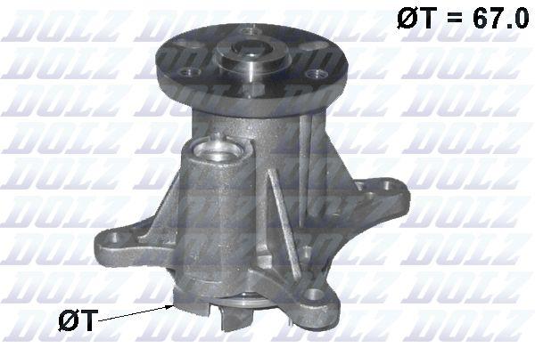 Водяной насос DOLZ C140