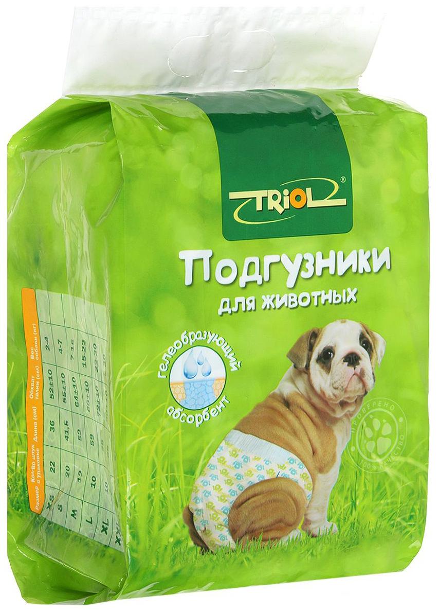 Подгузники для собак Triol XXL, вес собаки