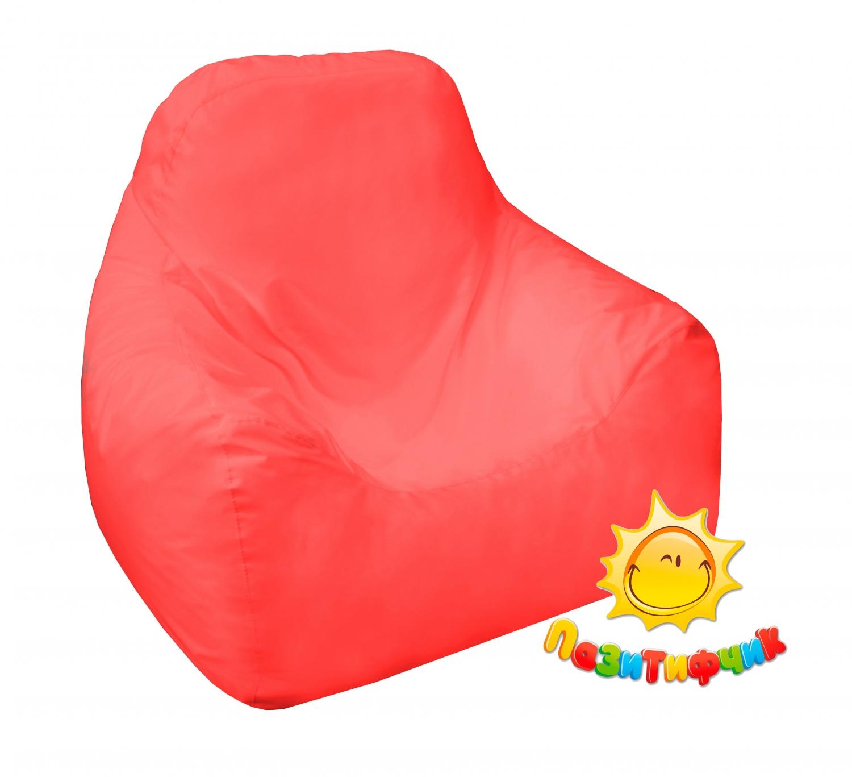 Кресло-мешок Pazitif Пазитифчик Оксфорд, размер L, оксфорд, красный фото