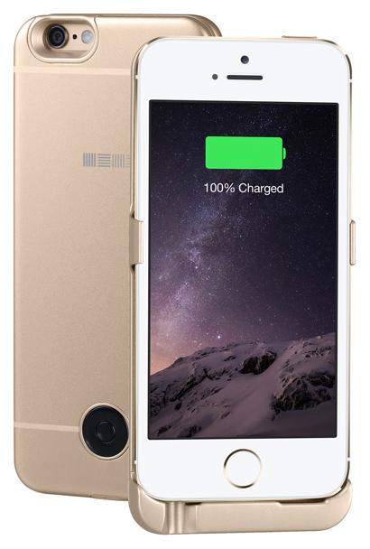 Чехол-аккумулятор InterStep для iPhone 5S/SE Gold (IS-AK-PCIP5SEGD-000B201)