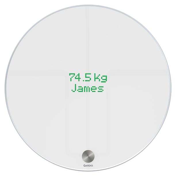 Весы напольные Qardio QardioBase Wireless Smart Scale
