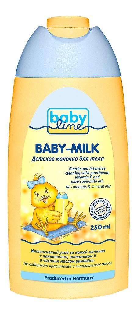 Детское молочко для тела babyline, 250 мл