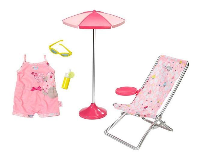 Купить Набор Солнечные ванны, Набор солнечные ванны Baby Born Zapf Creation 822-395, Аксессуары для кукол