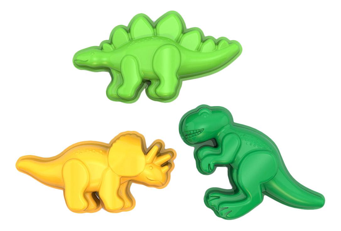 Купить Динозаврики, Формочки динозаврики , НОРДПЛАСТ, Песочные наборы