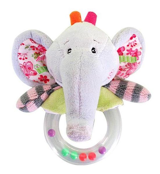 Купить Погремушка Жирафики Слонёнок Тим 93585, Погремушки