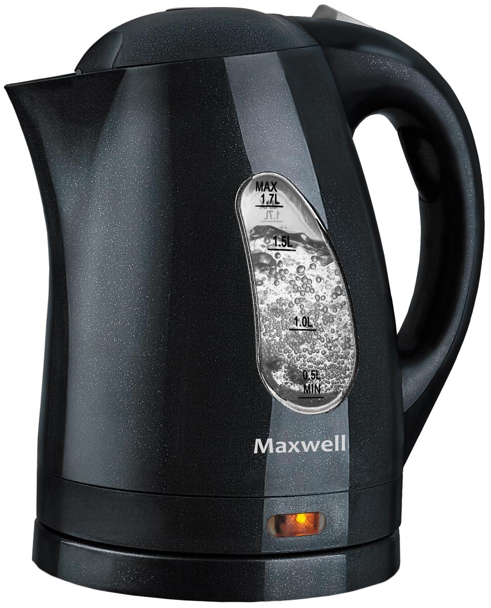 Чайник электрический Maxwell MW 1014GY Black