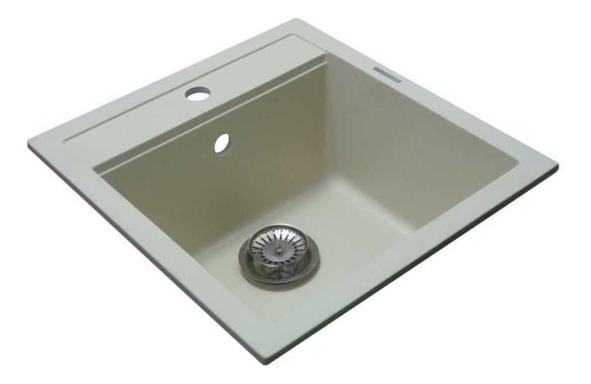 Мойка для кухни гранитная LAVA Q1.CRE кремовый