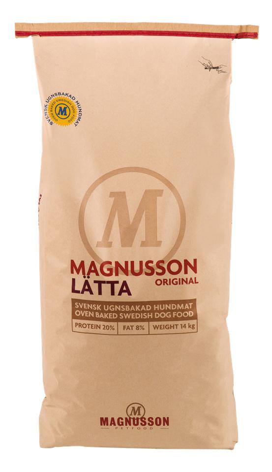 Сухой корм для собак Magnusson Original Latta,