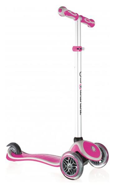 Купить Самокат трехколесный Y-SCOO Globber My free New Technology Розовый, Самокаты детские трехколесные