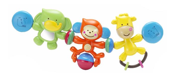 Игрушка-подвеска B kids веселые друзья фото