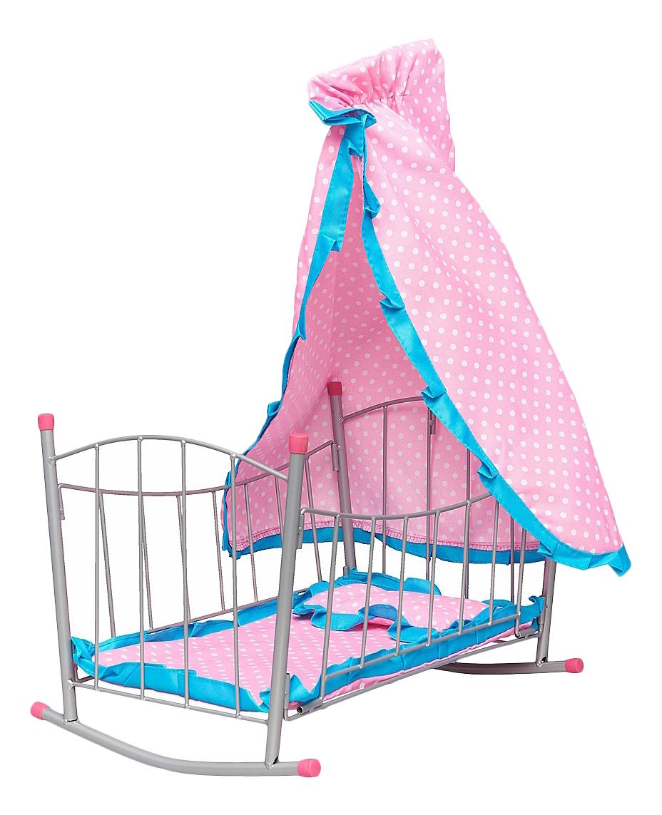 Купить Кровать Зайка с балдахином для кукол Mary Poppins, Мебель для кукол
